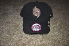 f78bbf28310 NWT Zephyr Portland Trail Blazers Hat Cap Womens Rose Gold Black Rip City