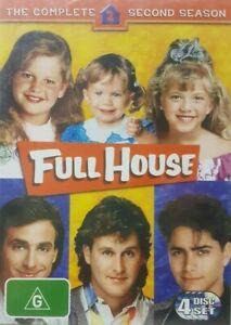 Full House Season 2 DVD - G rated Comedy Series 9 HOURS ! Region 4 Australia