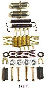 Parking Brake Hardware Kit Rear Better Brake 17388