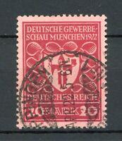 Deutsches Reich Plattenfehler MiNr. 204 a I gestempelt gepr. Infla Berlin (L250