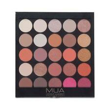 MUA MAKEUP BURNING EMBERS PROFESSIONAL EYESHADOW PALETTE Earthy Golds Nude NAKED