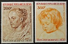 Timbre BENIN Stamp -Yvert et Tellier Aériens n°283 et 284 n** (Ben1)