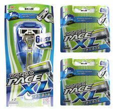 Dorco Pace XL1 Razor + 8 Cartridges Refills Total 10 Blades BRAND NEW SEALED