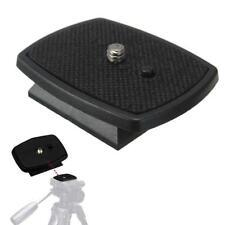 Tripod Quick Release Plate Screw Adapter Mount Head DSLR Camera Universal UK