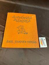 """""""ANDERSEN MÄRCHEN"""", Axel Juncker Verlag Berlin #B308"""