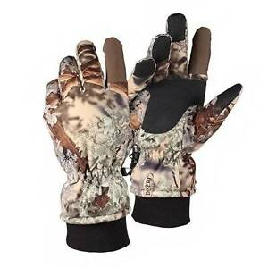 King's Camo Insulated Waterproof Hunting Gloves Desert Shadow M L XL