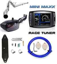"H&S Mini Maxx Tuner DPF EGR Delete 5"" Exhaust S&B Ford 6.7L Powerstroke Diesel"