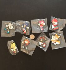 Tomy Gacha Sonic The Hedgehog Keychains Complete Set of 8