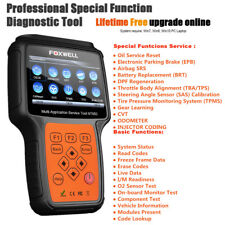 FOXWELL Car Scanner OBD2 Diagnostic + Special Function Tool ABS SRS DPF SAS Oil