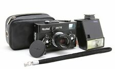 Rollei 35 TE Black, vintage analog roll film, compact camera, lens Tessar 3,5/40