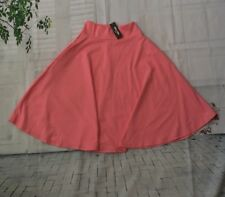 Agnes & Dora Women's Pink Midi Skirt Size Small. With Pockets New With Tag