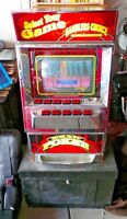 Las Vegas Collectable -Gamblers Choice  VIDEO DRAW POKER Machine with stand
