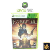 Fable 3  (2004)  Xbox 360 Video Game in Case with Manual & Disc Tested Works A+