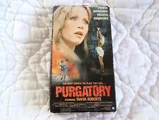 PURGATORY VHS WOMEN IN PRISON SLEAZE FEMALE NUDITY PROSTITUTION TANYA ROBERTS