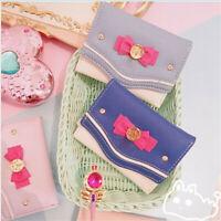 New Women Cosplay Anime Wallet 20th Anniversary Cute Purse Sailor Moon Handbag