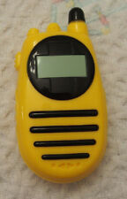 Toy Cell Phone for Construction set yellow black pretend play plastic