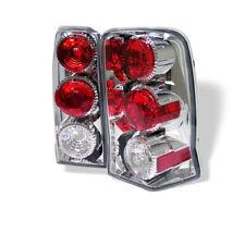 Cadillac 02-06 Escalade Chrome Rear Tail Lights Set Brake Lamp ESV