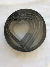 Ateco Heart Shaped Cutters