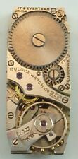 Vintage Bulova Mechanical Wristwatch Movement - Cal 4AE - Parts / Repair
