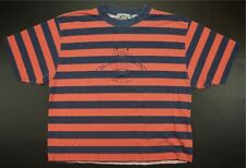 Rare Vintage LEVI'S Shirts For Jeans Original Spell Out Striped T Shirt 90s XL