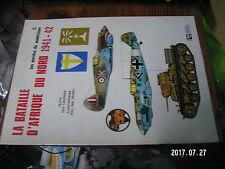10µµ Revue Mordus du modelisme n°5 Bataille Afrique du Nord 1941-42