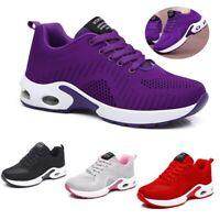 Womens Tennis Shoes Ladies Casual Athletic Air Cushion Mesh Running Sneakers