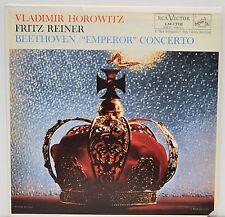 BEETHOVEN EMPEROR CONCERTO - Reiner & Horowitz  -  Vinyl LP   RCA  LM1718   EX