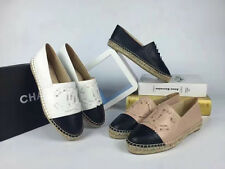 women Weave Casual Leather Fisherman Sneakers Espadrilles Flat Shoes