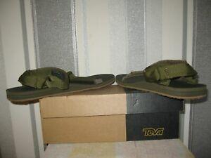 Teva  Olive. Universal Strapping System. UK Size 11