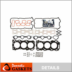 Fits 05-13 Nissan Frontier Pathfinder Xterra 4.0L DOHC Head Gasket Set VQ40DE