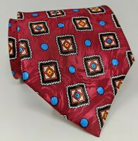 Cravatta Fendi Roma 100% pura seta tie silk original made in italy vintage