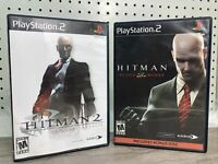 Hitman Blood Money Hitman 2 Silent Assassin Sony PS2 Playstation 2 Shooter