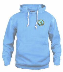 S.S.C Napoli 1964-1980 Retro Football Hoodie Embroidered Crest S-XXXL