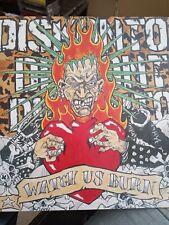 Diskonto Watch Us Burn Lp Vinyl Hc