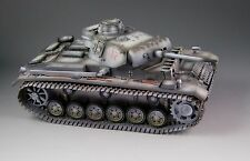 1/30 WW2 German Panzer III Ausf L with wide metal track and wheel Winter version