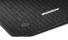 Esteras de gamuza textil esteras tapices para mercedes a-Klasse w177 4 piezas