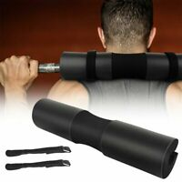 Squat Barbell Pad Support Gym Weight Bar Foam Cover Pull Up Neck Protect Black