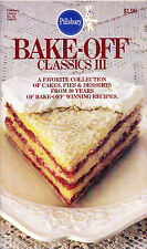 Pillsbury Bake Off Classics III 3 Cakes Pies Desserts 1983 #26 93 Pages