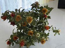 New listing Safflower Dried Flower Bunch Bouquet Bundle Orange Golden Yellow