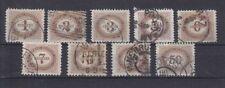Echte gestempelte Briefmarken aus Österreich (1867-1918) - Ungarn als Satz