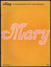 "MARY TRAVERS songbook OF THE BAND PETER, PAUL & MARY solo songs ""MARY"" 1971"