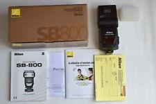Nikon SB-800 schön, OVP, Händler-Gewährleistung
