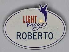 Vintage Disneyland Cast Member Name Tag Badge Light Magic Parade 1997 Disney Vtg