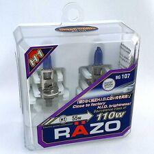 RAZO H1 Xenon Headlight Bulbs Bright - Royal White  JDM Halogen BG107 New Sealed