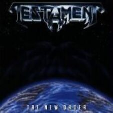 The New Order by Testament (CD, May-1988, Megaforce)