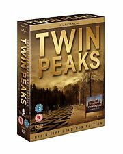 ❏ Twin Peaks 1 - 2 Definitive Gold Box Edition 10 DVD Set New Collection ❏