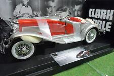 DUESENBERG SJ Roadster Cabriolet Clark GABLE 1/18 d AMERICAN MUSCLE ERTL voiture