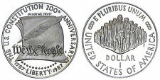 STATI UNITI/USA 1 DOLLAR 1987 S CONSITUTION BICENTENNIAL ARGENTO/SILVER #3464A