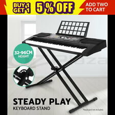 Keyboard Stand Height Adjustable Double Braced X Type Folding Music Piano Holder