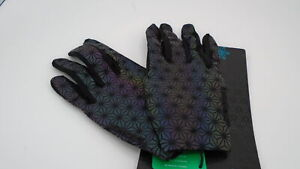 Supacaz SupaG Full Finger Cycling Gloves (Oil Slick, L)